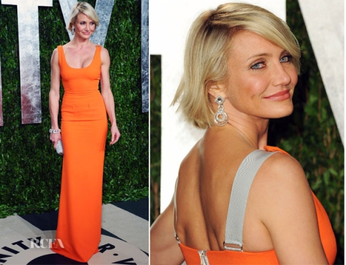 Cameron Diaz at the 84th Annual Academy Awards after party