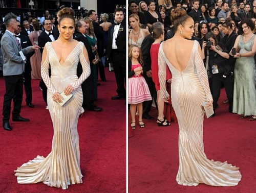J Lo at Academy Awards 84th