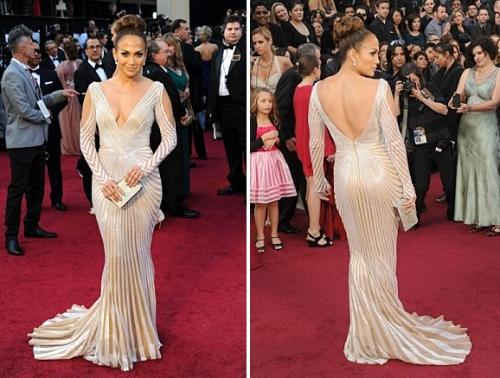 J Lo at Academy Awards 84th