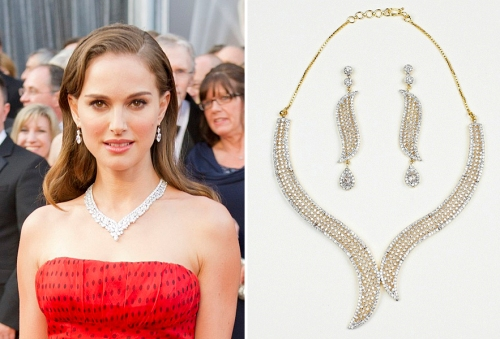 Best diamond jewelry of the 84th Annual Academy Awards