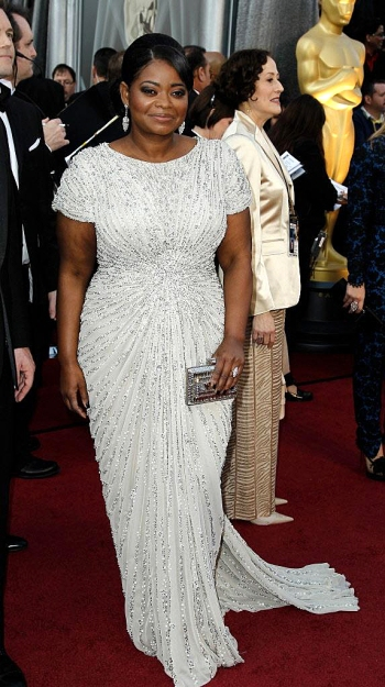 Best Supporting Actress winner Octavia Spencer Academy Awards
