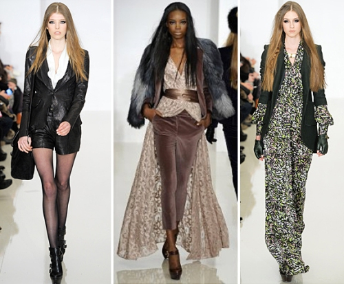 Highlights from Raechel Zoe Fall 2012