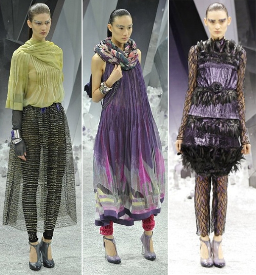 Chanel trends for fall/winter 2012 runway fashion