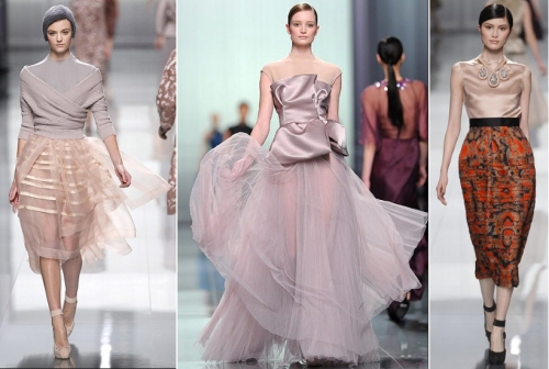 Most beautiful gowns or dresses from 2012 Paris Fashion Week