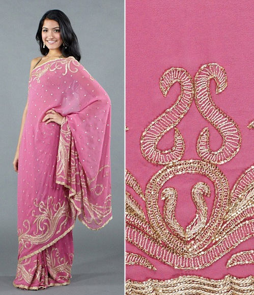 what a high-quality saree looks like