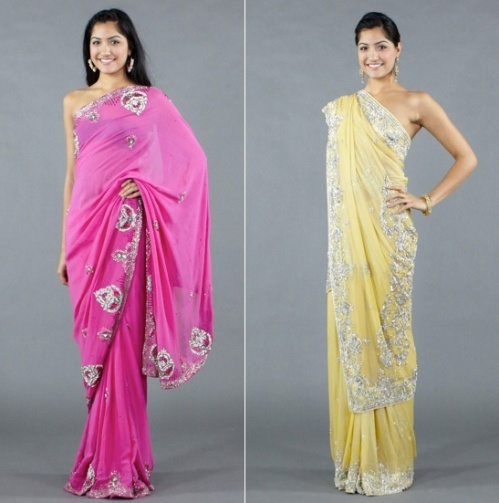 crystal embellished sarees by luxemi