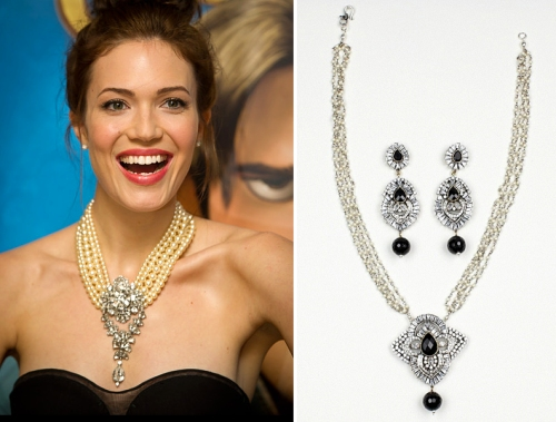 1920s celebrity trend flapper fashion jewelry pearl necklace