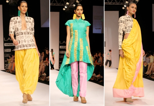 Best collections at Lakme Fashion Week Summer/Resort 2012