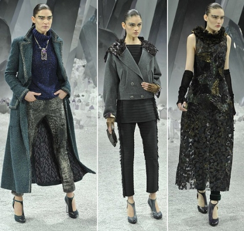 Chanel best collection of March Paris Fashion Week 2012