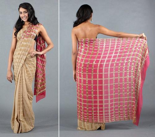 no bleed designer sarees