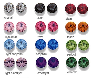 swarovski crystal colors