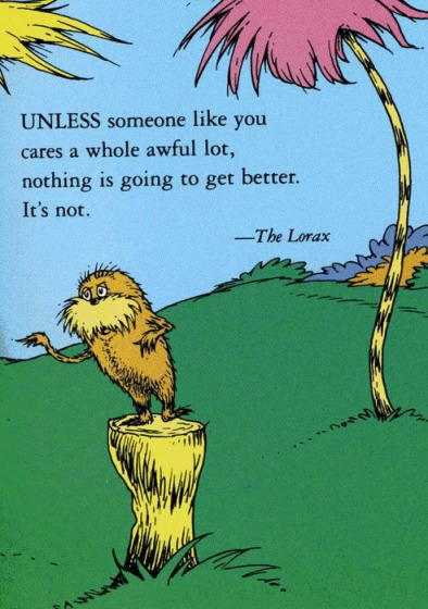 Inspiring Words from Dr. Seuss