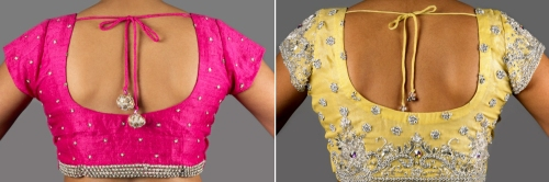 ways to save money on Indian blouses