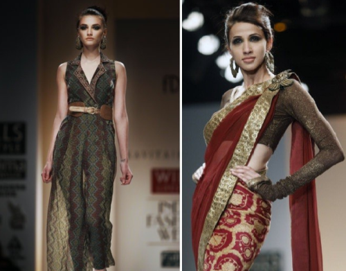 best fall winter autumn 2012 indian fashion runway designer collections kavita bhartia