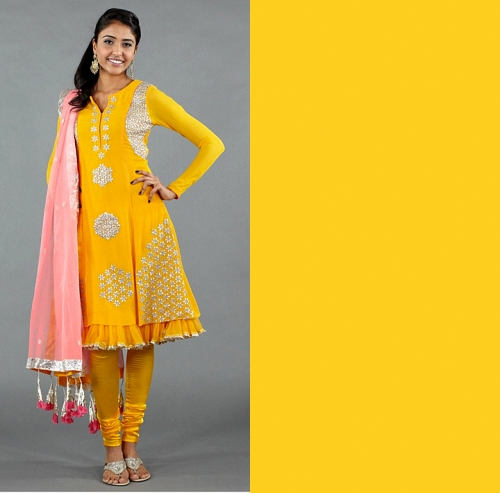 Pantone spring 2012 color trends indian sarees to match
