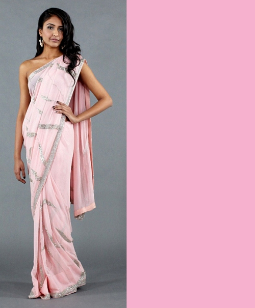Indian fashion looks inspired by Pantone spring 2012 colors