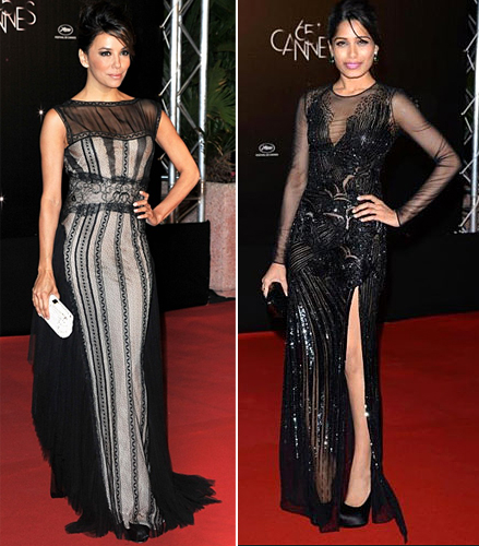 summer 2012 trends cannes sheer black mesh