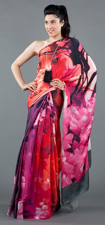 Hawaiian print celebrity trend Indian inspired fashion spring summer 2012