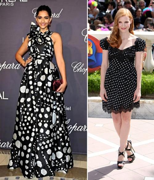 summer 2012 trends polka dots celebrity