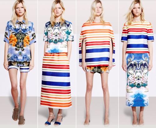 Indian sarees inspired by Stella McCartney resort wear