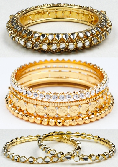 indian bracelet trend celebrities enamel bangles