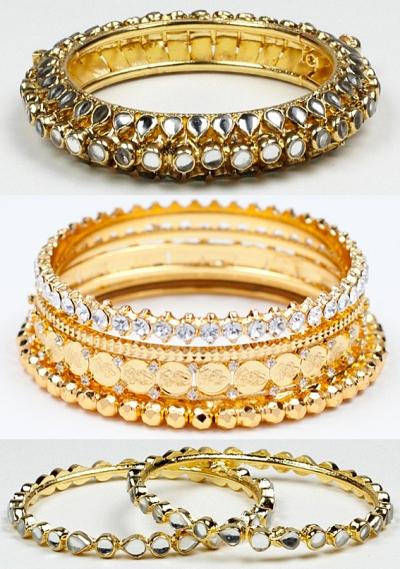 indian bracelet trend celebrities enamel bangles