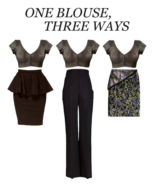 new ways to wear your indian blouse Western meets Eastern fashion
