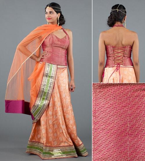designer salwar Mallika Mathur up and coming Indian fashion designers