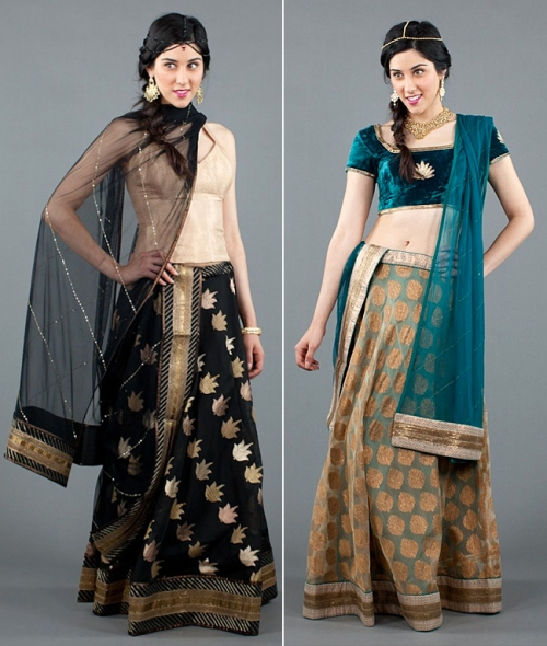 Indian wedding fashion trends 2012 up and coming designers Mallika Mathur