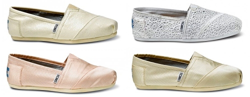 women's toms wedding shoe collection
