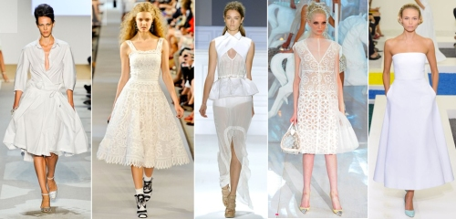 Indian spin on summer white color fashion trends