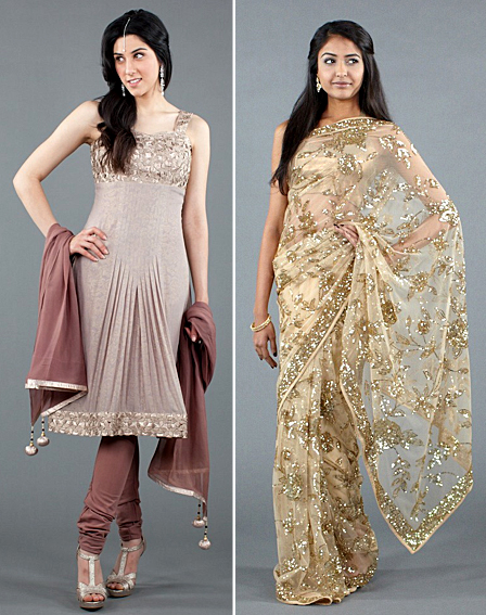 sarees salwars indian fashion inspired by chanel bombay express makeup line