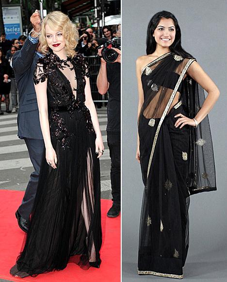 best fashion Emma Stone looks