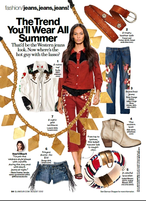 summer 2012 magazine trends glamour