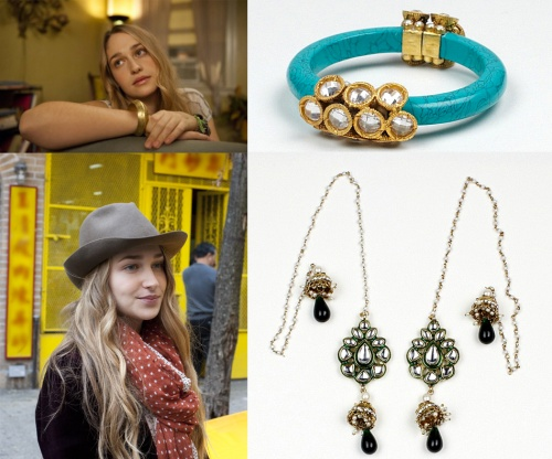 Girls HBO show inspired Indian accessories Jessa
