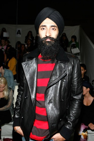Waris Ahluwalia Mercedez-Benz Fashion Week Mercedes Benz New York Fashion Week 2009
