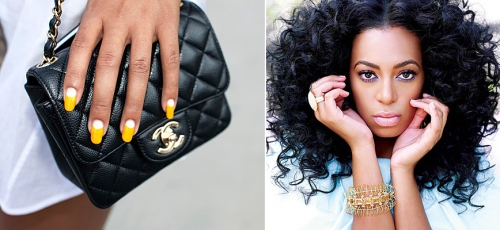 beyonce vs. solange knowles best style indian infuenced accessories collar necklace gucci purse funky interesting manicures