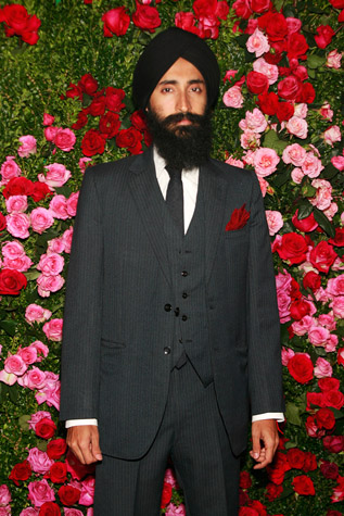 Red Carpet looks Waris Ahluwalia