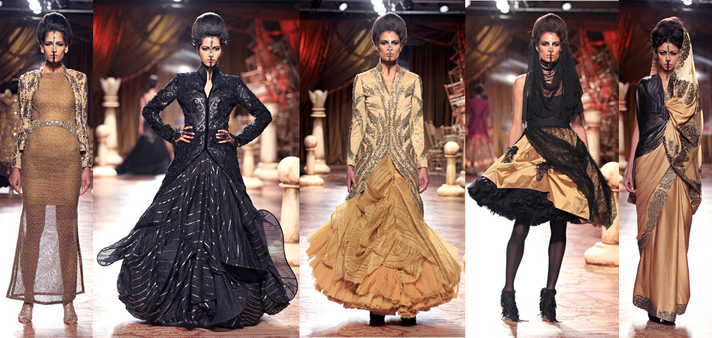 Delhi Couture Week 2012 Best Collections Indian Fashion Trends The Luxe Report