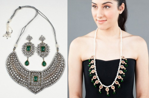 india fashion jewelry accessory trends fall winter 2012