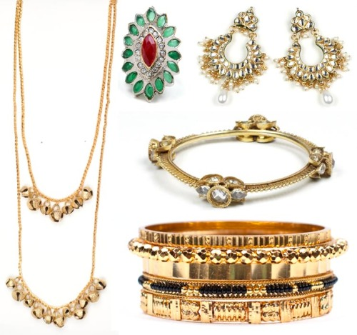 indian jewelry and accessories for an eclectic artsy style