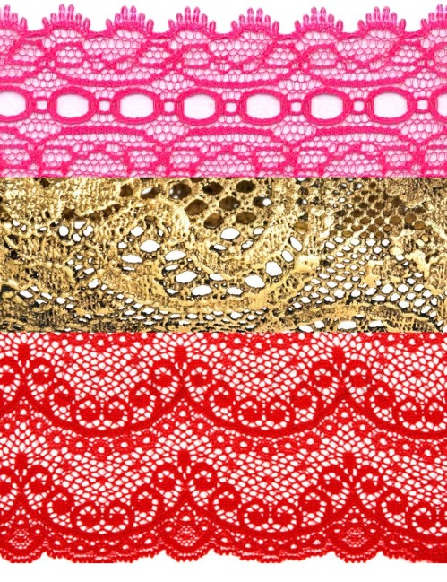vibrant lace for craft DIY wedding projects