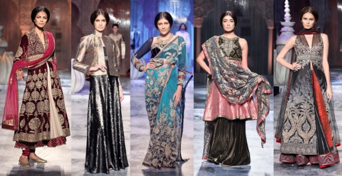 indian runway trends 2012