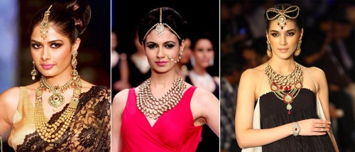 india fashion jewelry trends fall winter 2012 designer runway looks