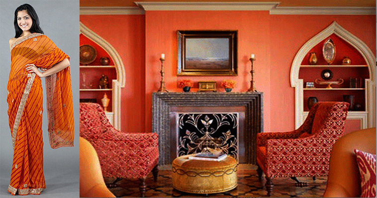 Interior decorating indian influenced the luxe report for Living room ideas indian style