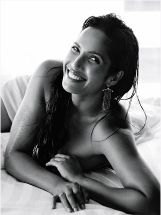 portrait of padma lakshmi vogue india