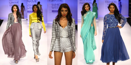 fall winter 2012 indian fashion houndstooth inspired fashion