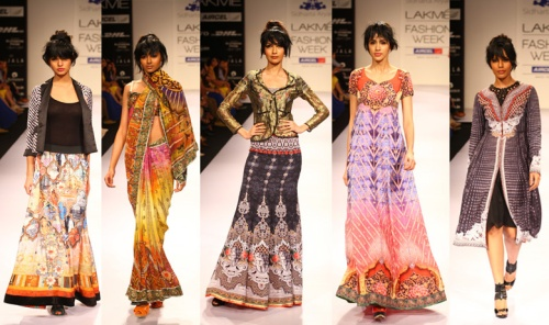 best up and coming indian designers at lakme fashion week august 2012