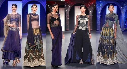 best indian fashion designers runway