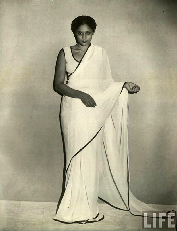 Sari life magazine iconic images photography black and white fashion